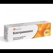 Clotrimazole 1% Cream Fungal Infections Dermatomycosis Treatment 20g
