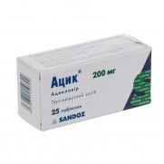 Acic 25 tablest 200 mg ACICLOVIRUM Ацик