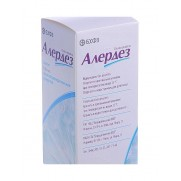 Alerdez syrup 100ml 0,5mg/ml Desloratidine Allergy Алердез
