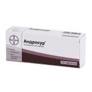 Anrdocur 50 tablets 50mg Cyproterone Андрокур