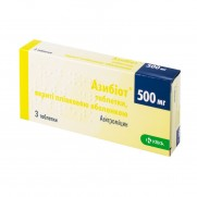 Azibiot 3 tabl 500 mg AZITHROMYCINUM Азибиот