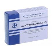 Azithromycin BCHFZ 6 tablets 250 mg AZITHROMYCINUM Азитромицин БХФЗ