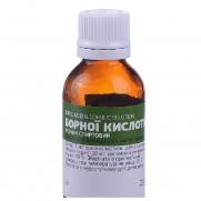 Boracic acid Alcoholic solution 2% 25ml Раствор Бороной кистолы
