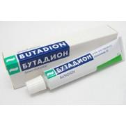 Butadion ointment 5% 20g tube Phenylbutazone Бутадион