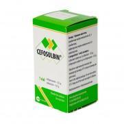 Cefosulbinum powder for injection solut 1 vial 0,5g / 0,5g CEFOPERAZONUM Цефосульбин