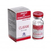 CLAVAM powder for injection solution 1 vial 600 mg COMB DRUG Клавам