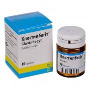 Clostybegit 10 tablets 50mg Сlomiphene citrate Клостилбегит