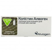 Colistin Alvogen powder for solution for injection or infusion 2000000 UI 10 vials Колистин Алвоген