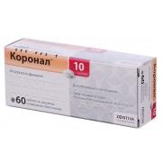 Coronal 60 tablets 5mg & 10mg Bisoprolol Коронал Heart failure & Hypertension