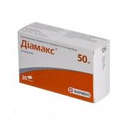 DIAMAX 30 capsules 50mg DIACEREINUM Диамакс
