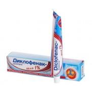 Diclofenac gel 1% 50 g DICLOFENACUM Диклофенак