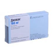 Diovan 16 tablets 80mg & 160mg Vatsartan Vatsartanum Диован Arterial hypertension