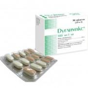 Duglimax 30 tablets 500mg Metformin hydrochloride 1mg Glimepiride