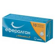 Efferalgan C Vitamin 10 & 16 effervescent tablets 500mg Paracetamol Эффералган Pain Relief
