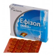 Efisol 20 tablets lozenges Sore throat Эфизол