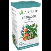 Elekasol Aelecasolum tea 20 bags / 1,5g Ear Nose Throat diseases Элекасол