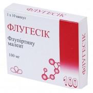 Flugesic 10 tablets & 30 tablets 100mg Flupirtin Флугесик Pain killer Acesodyne
