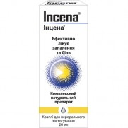 INCENA drops 20ml COMB DRUG Инцена