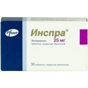 INSPRA 30 tablets 25mg & 50mg Eplerenone Инспра Affections of cardiovasculares