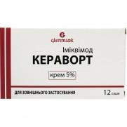 Kerawort (Imiquimod) cream 5% 250mg 12 sachet Кераворт