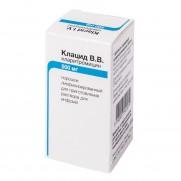 KLACID V V lyophilisat powder inject  500 mg CLARITHROMYCINUM Клацид В В
