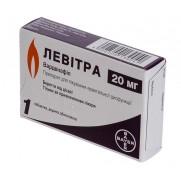 Levitra 1 tablet 20mg Vardenafil Левитра Erectile dysfunction