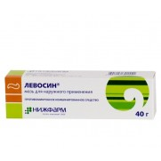 Levosin Ointment tube 40 g Nizhfarm