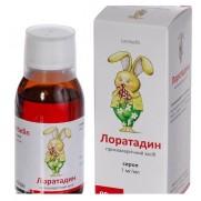 Loratadine syrup 90ml 1mg/ml Loratadine Rhinitis Лоратадин сироп