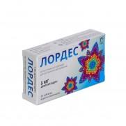 Lordes 20 tablets 5mg Skin Allergy rhinitis Лордес