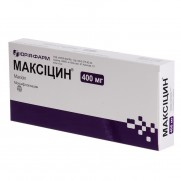 Maxicin conc for injection solut 400 mg MOXIFLOXACINUM Максицин