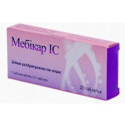 Mebicar IC 20 tablets 0,5g Мебикар IC Neurosis & Irritation