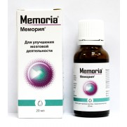 Memoria oral drops 20ml Мемория Memory disorders
