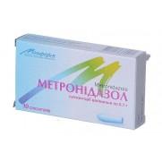 Metronidazole 10 vaginal supp 0,1 g METRONIDAZOLUM Метронидазол