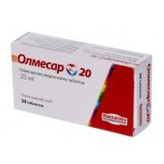 Olmesar 28 tablets 20mg Olmesartan Olmesartanum Олмесар