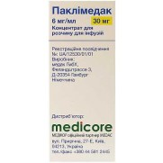 Paclimedac concetrate for infusion 5ml 6 mg/ml 30mg paclitaxel Cancer Паклимедак
