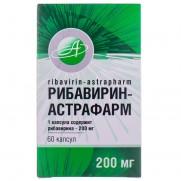 Ribavirin-Astrafarm 200mg 60 capsules Рибавирин