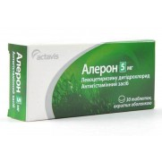 ALERON Antiallergic Allergic Rhinitis Treatment 30 tablets 5 mg