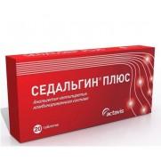 Sedalgin Plus Tablets №20 Actavis