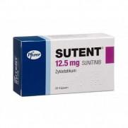 Sutent 28 capsules 12.5mg sunitinib Cancer Сутент