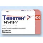 Teventen 14 tablets 600mg Eprosartan Теветен Arterial hypertension