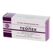 Theopaec Teopec 50 tablets 300mg Theophylline Asthma Теопэк