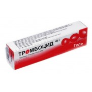 Thrombocid gel 40g tube Anti thrombosis Тромбоцид