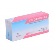 Tigofast 30 tablets 180mg Fexofenadine Allergy Rhinitis Тигофаст