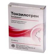 Tonsilotren 60 tablets Angina Тонзилотрен