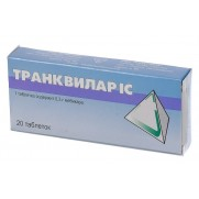 Trankvilar Trancvilar IC 20 tablets 300mg Mebicar Транквилар IC Anxiety & Fear & Stress