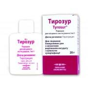 Tyrosur skin powder 20g TYROTHRICINUM Тирозур