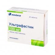 Ultrafastin 20 tablets 100mg Ketoprofen Ультрафастин гель