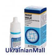 Unilat eye drops 2,5ml 50mcg/ml Latanoprost Унилат IOP