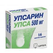 Upsarin Upsa (Acidum Acetylsalicylicum) Tablets 500 mg №16 Bristol-Mayers squibb