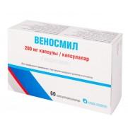 Venosmil 60 capsules 200mg HYDROSMIN Веносмил